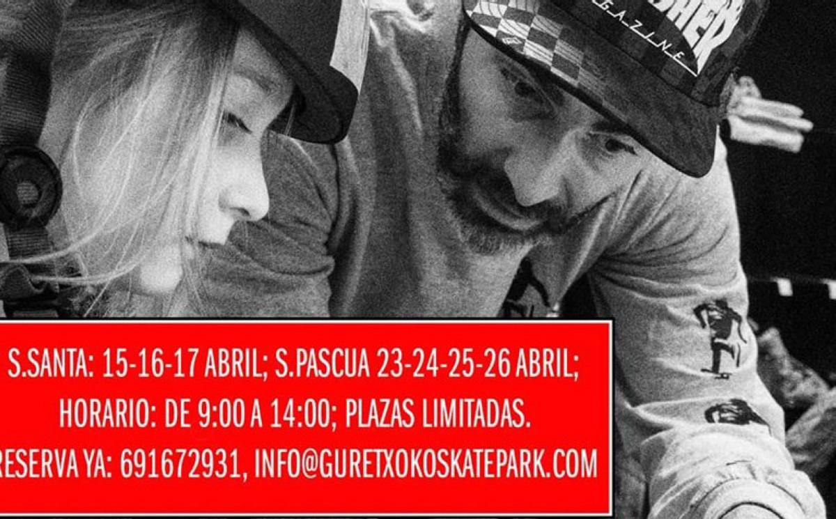 Campamento Semana Santa Guretxoko skatepark indoor