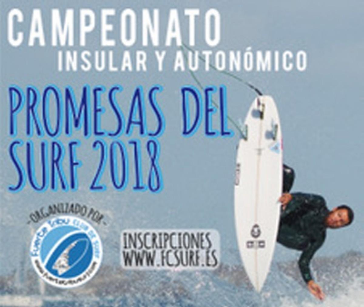 Campeonato autonómico e insular Promesas del Surf Canario