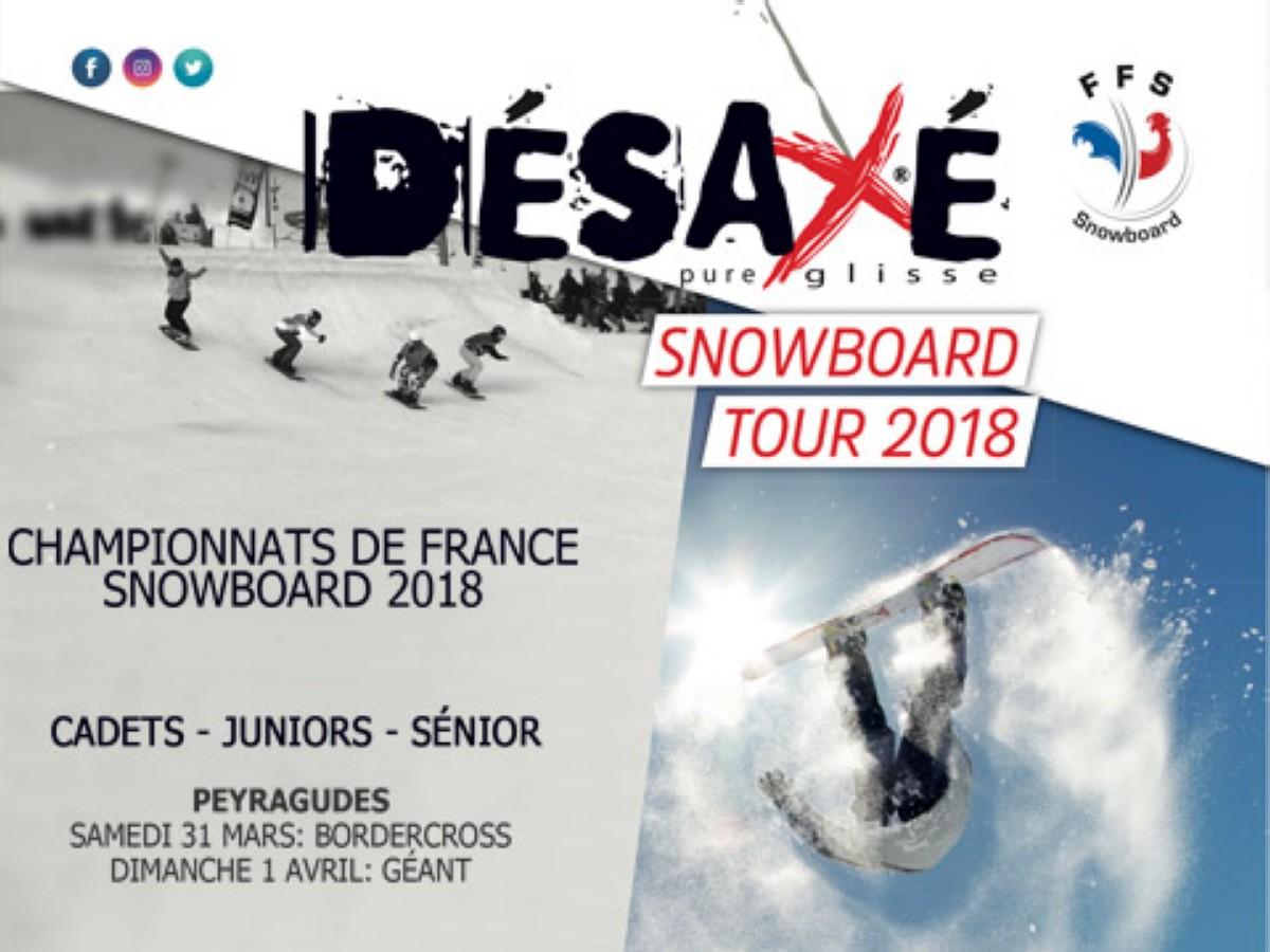 Campeonato de Francia de Snowboard en Peyragudes