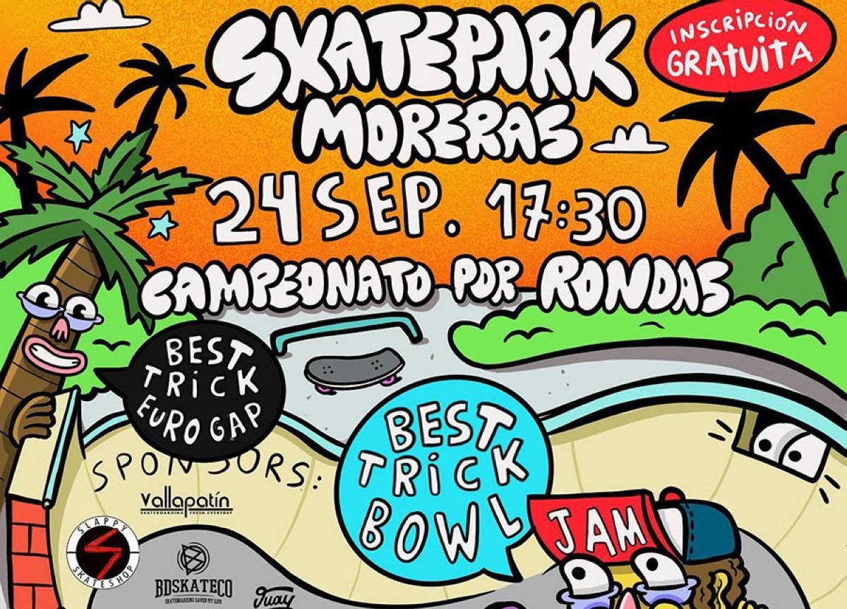 Campeonato inauguración del skatepark de las Moreras