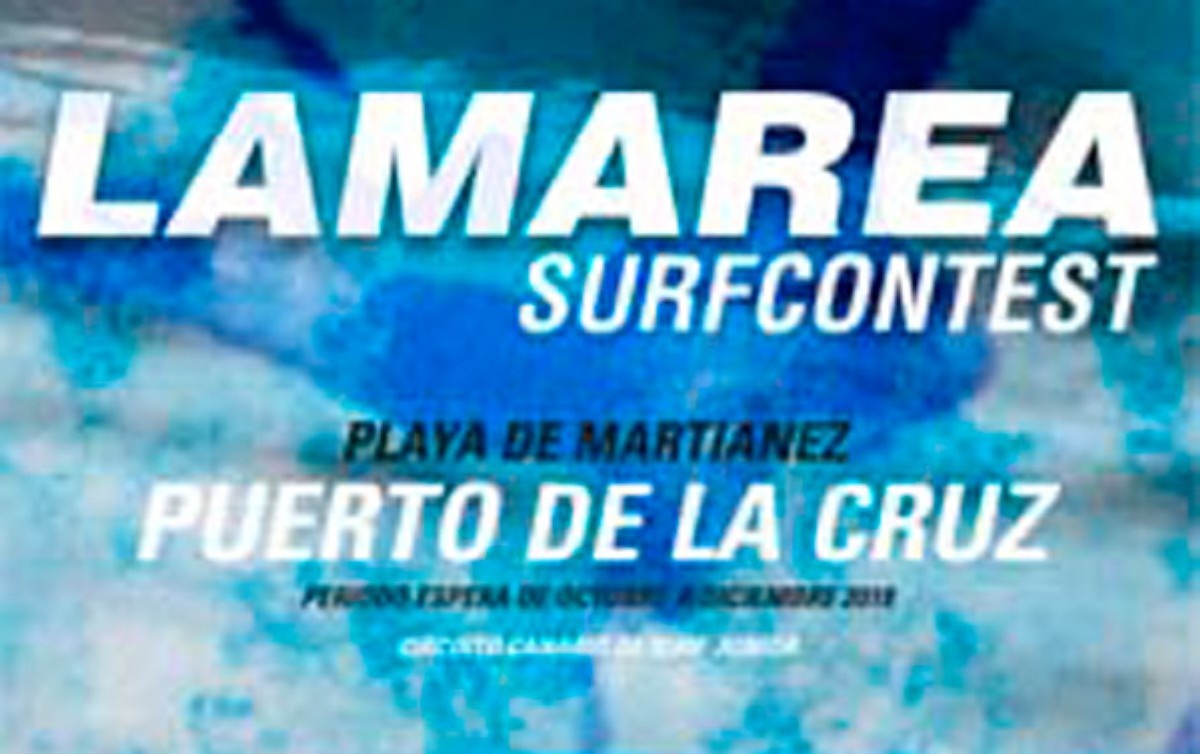 Campeonato La Marea Surf en Puerto de la Cruz