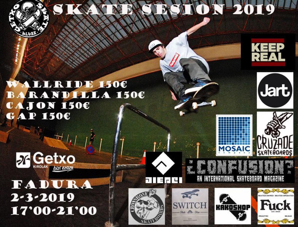 Campeonato de skate en Getxo