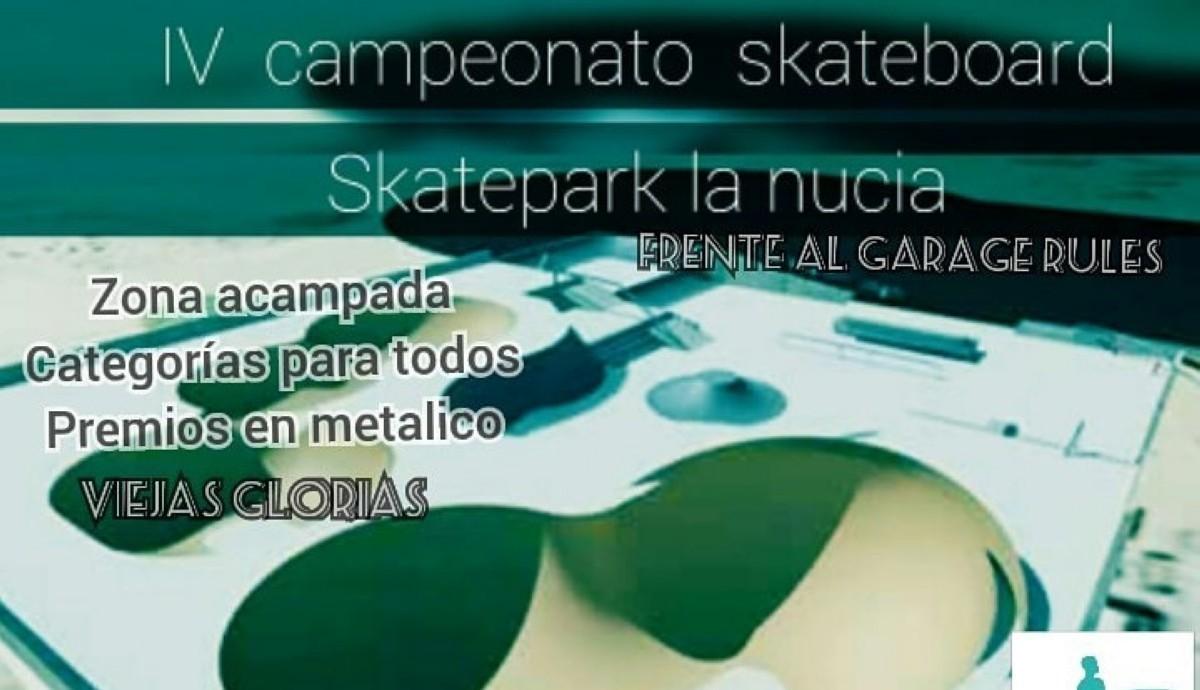 Campeonato de Skate en La Nucia