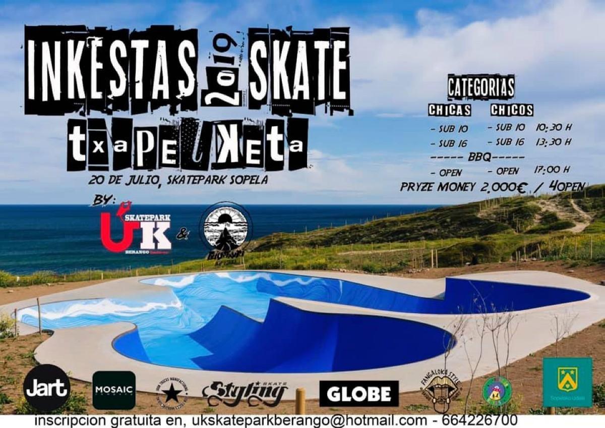 Campeonato de Skate en Sopelana
