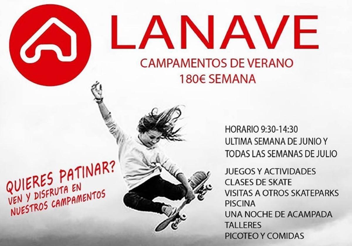Campus skate de verano LaNave