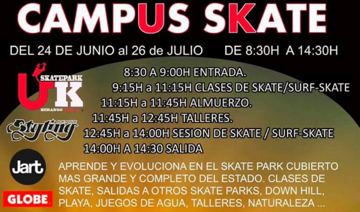 Campus Verano skate de UK Skatepark