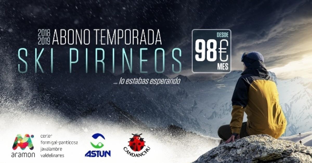 Candanchú, Astún y Aramón lanzan Ski Pirineos