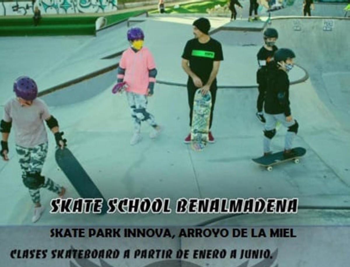 Clases de Skate en Benalmadena hasta junio