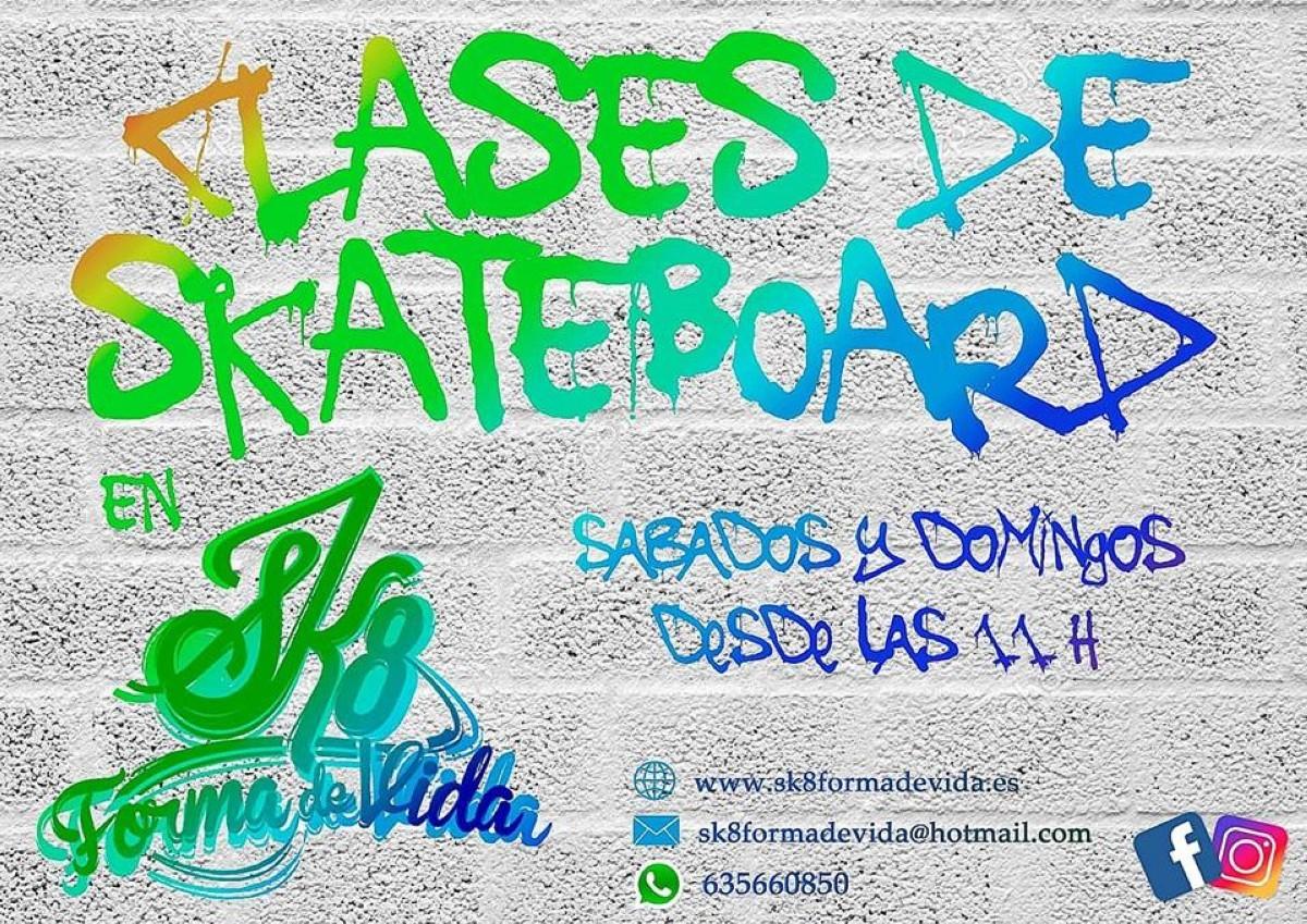 Clases de skateboard en Valladolid