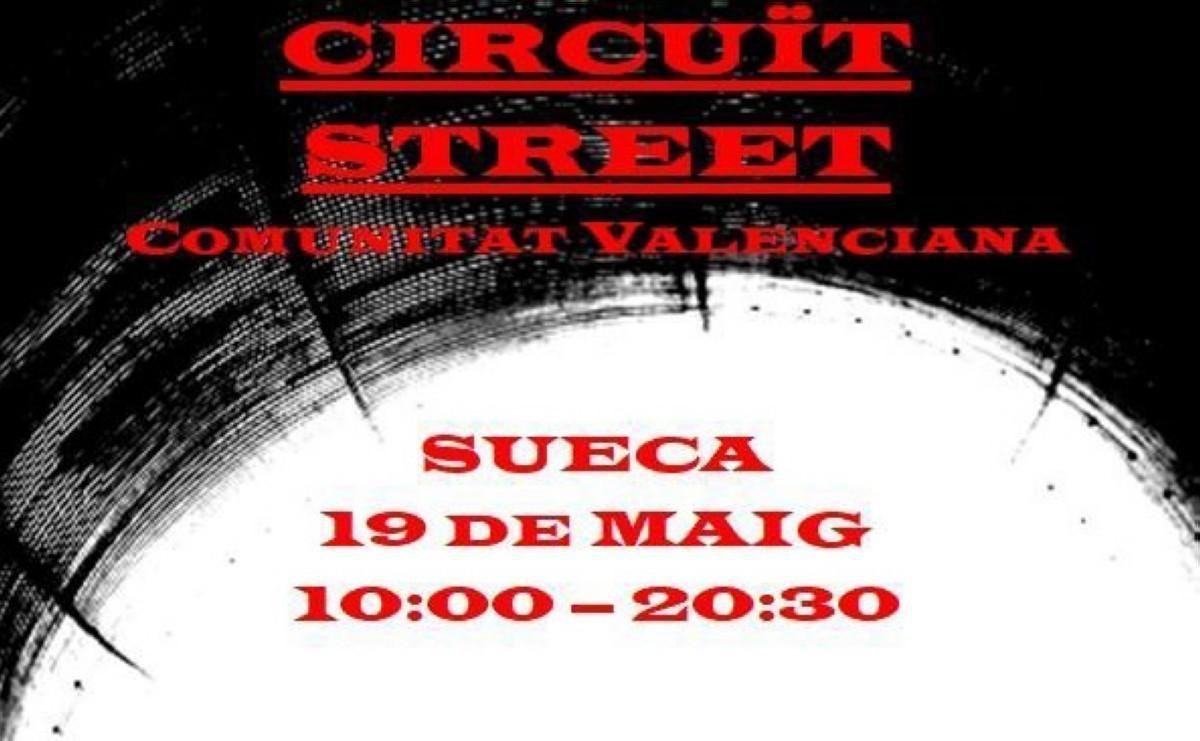 Competición de street en el skatepark de SUECA
