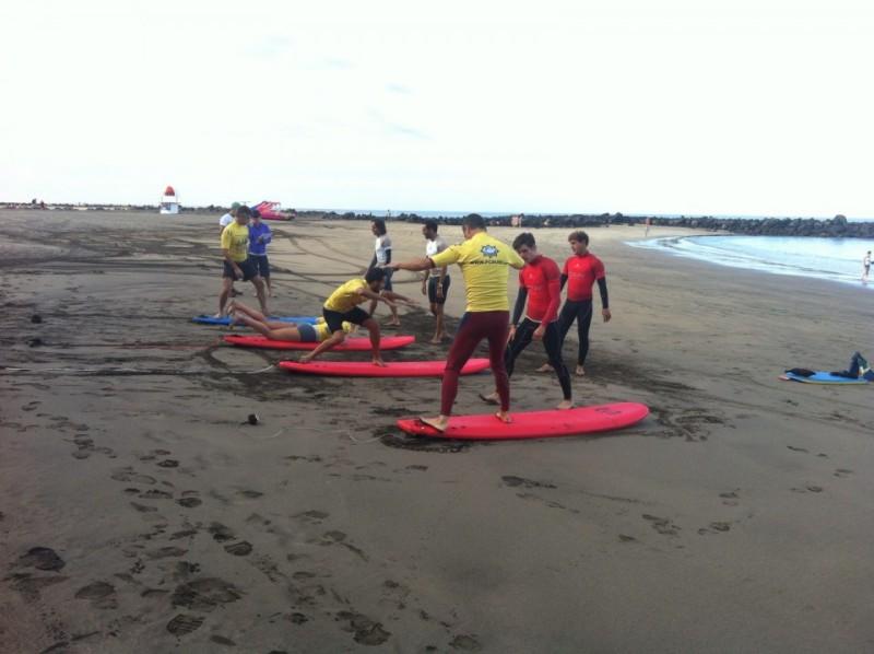 Curso de Entrenadores de Surf, nivel I en modalidad semipresencial