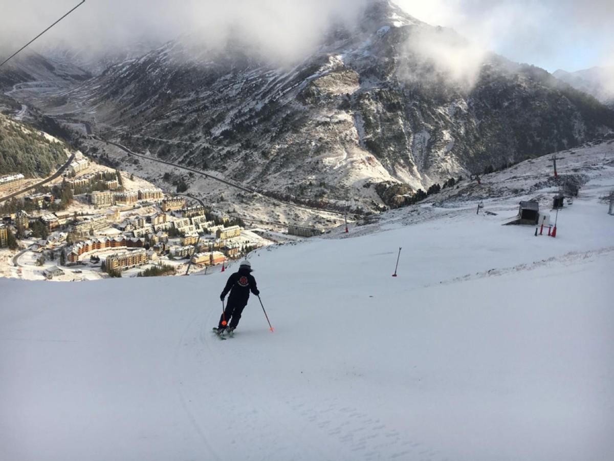Disfruta del primer fin de semana de nieve en Candanchú