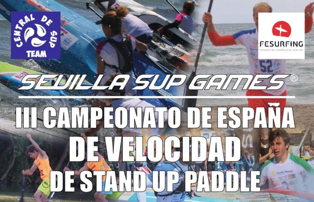 El Campeonato de España de Velocidad de SUP en Sevilla