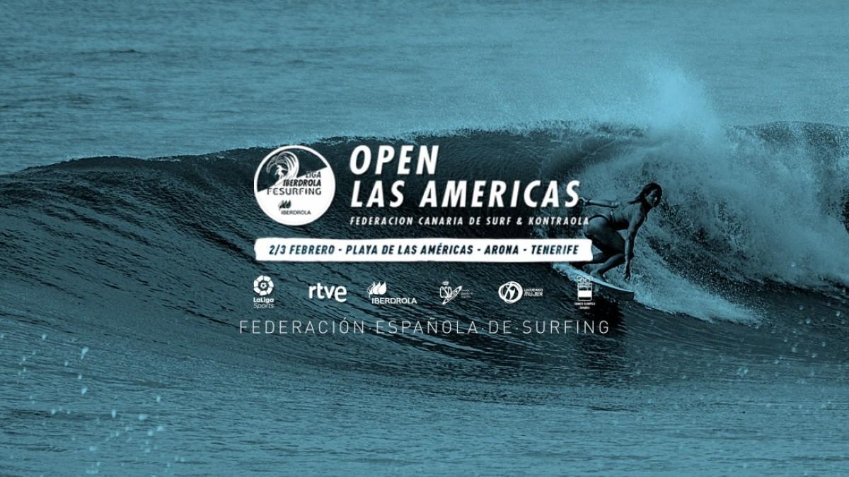 El Open de surf Las Américas abre inscripciones