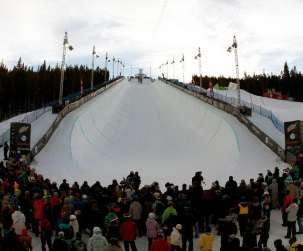 El USA Grom Fest Breckenridge del World Rookie Tour