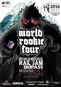 El World Rookie Rail Jam by Skipass en Modena
