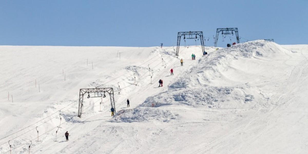 Esquí de verano en Noruega