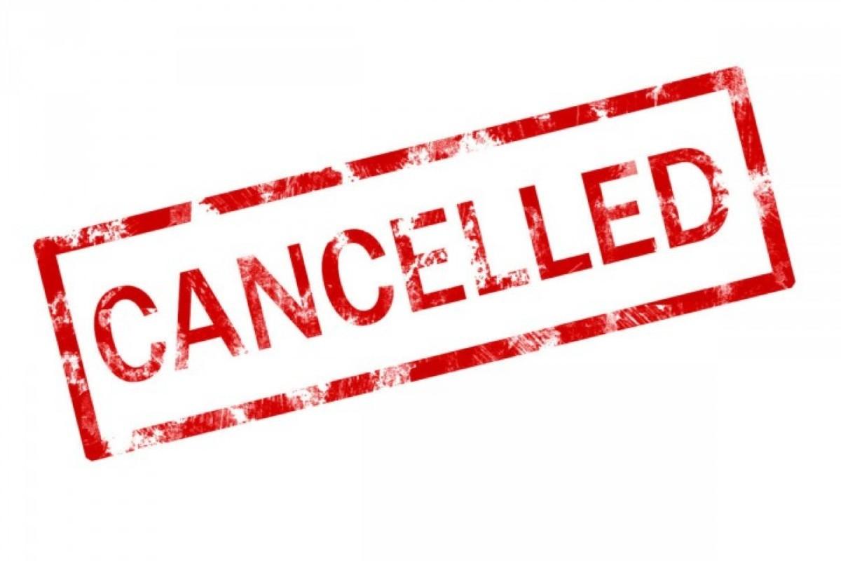 Eventos de Snowboard mundial cancelados