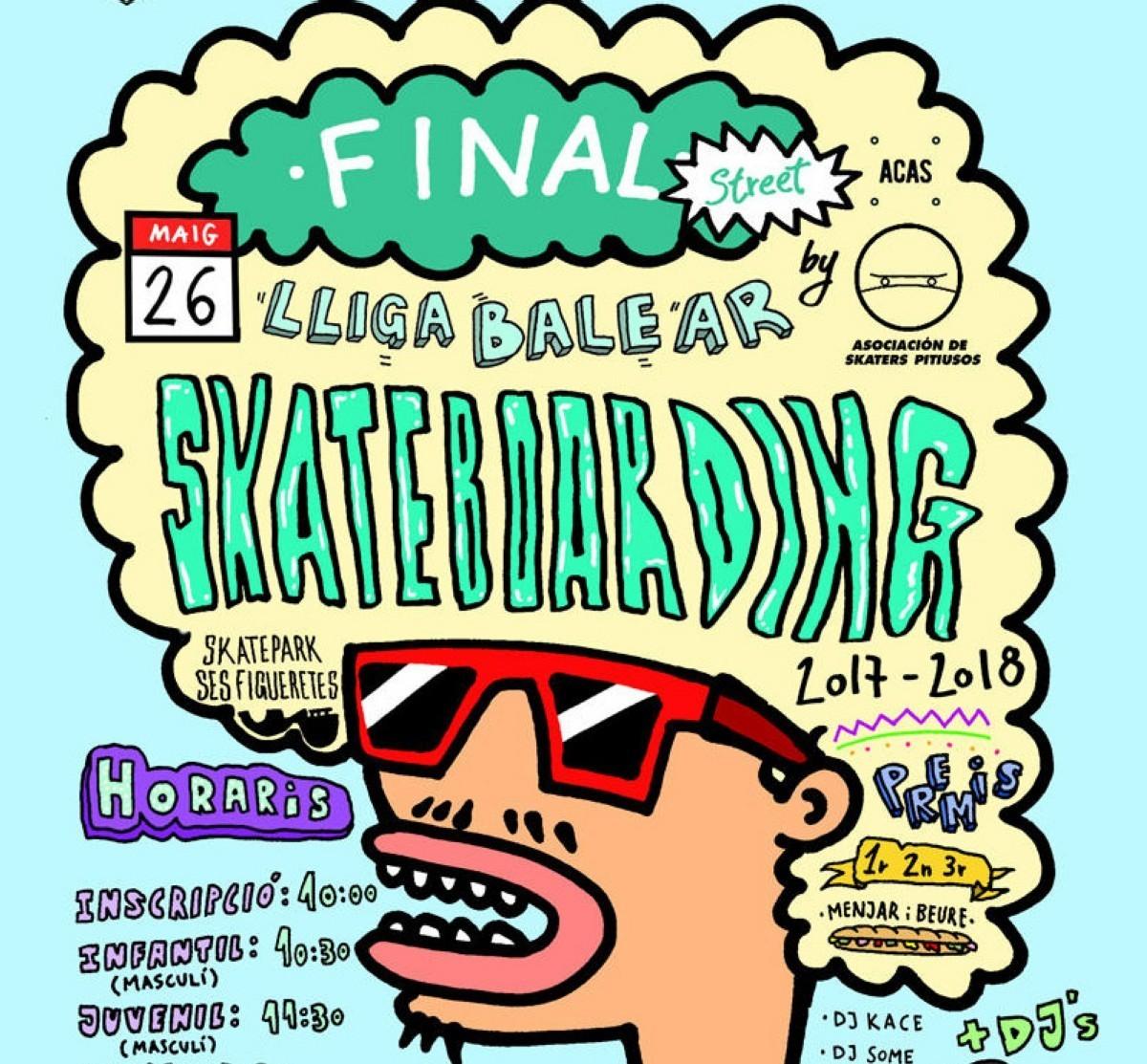 Final de la Liga Balear de Skate Ses Figueretes