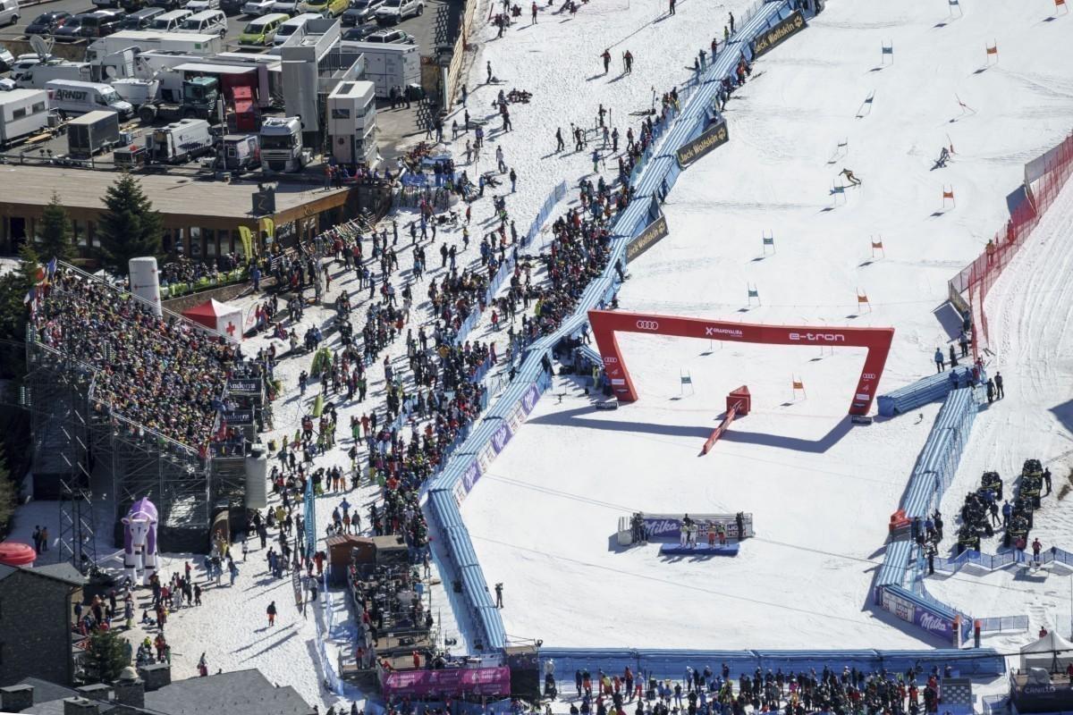Grandvalira acogerá la Copa del Mundo Ski Alpino 2023