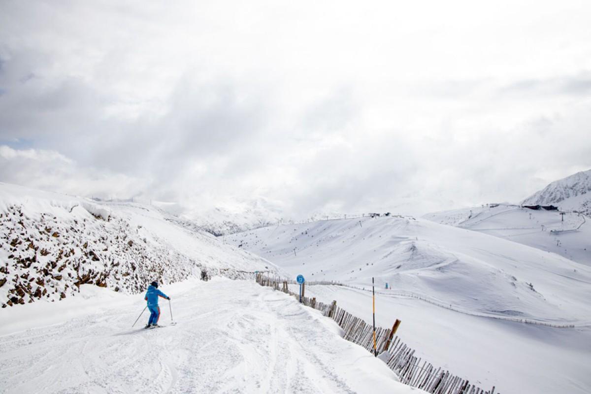 Grandvalira encara la Semana Santa con nieve polvo