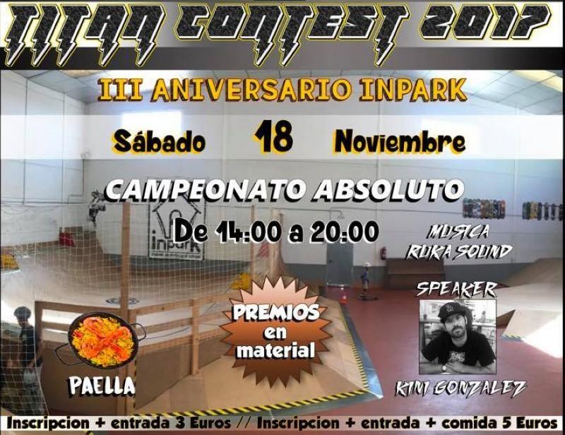 III Aniversario Inpark Valdemoro (Madrid)