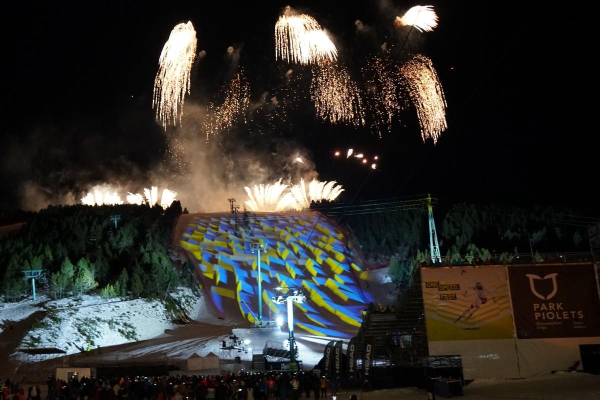 Inauguración de las Finales de la Copa del Mundo Andorra 2019