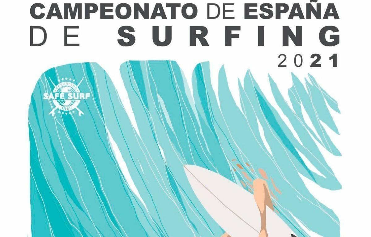 Inscribirse en el Campeonato de España de Surfing 2021