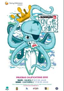 El circuito europeo Quiksilver King of the Groms en Somo