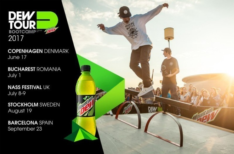La final del Dew Tour Am Series en Barcelona