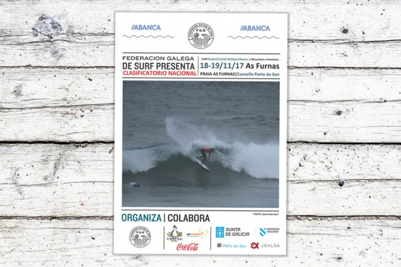 La prueba Junior y Open de Surf en As Furnas