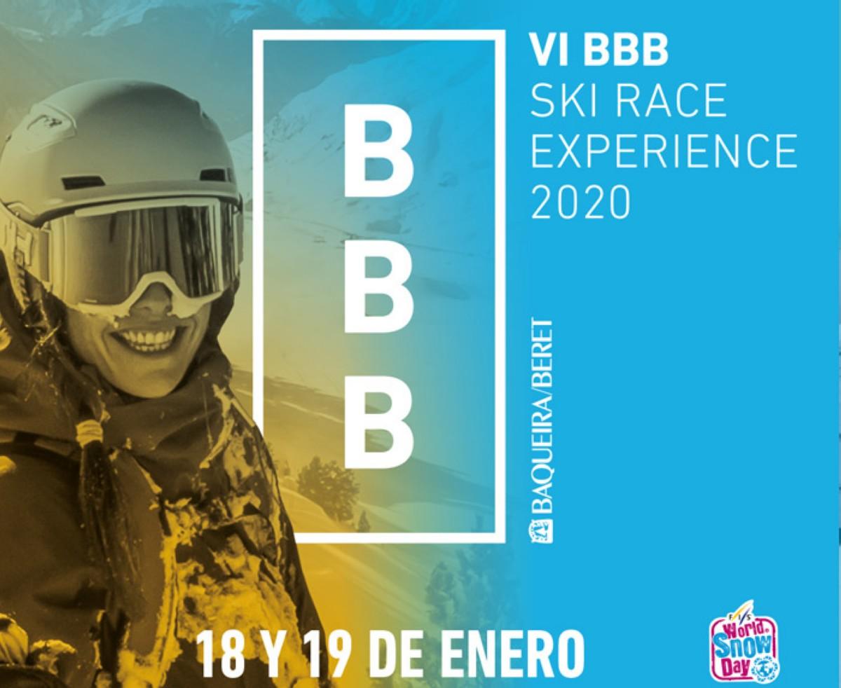 La VI BBB Ski & Snowboard Race Experience de Baqueira Beret