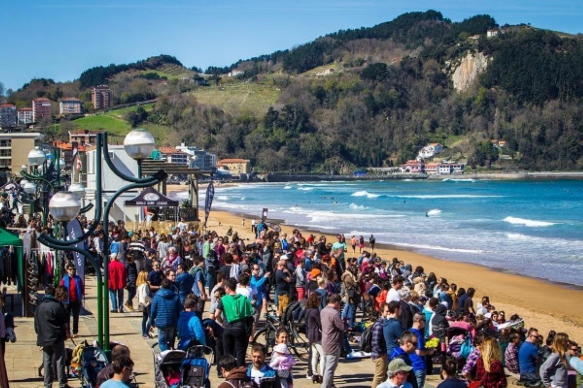La World Surf League cancela toda actividad competitiva