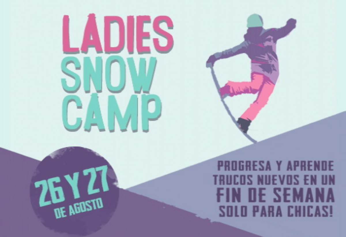 Ladie Snow Camp en Nevados de Chillán