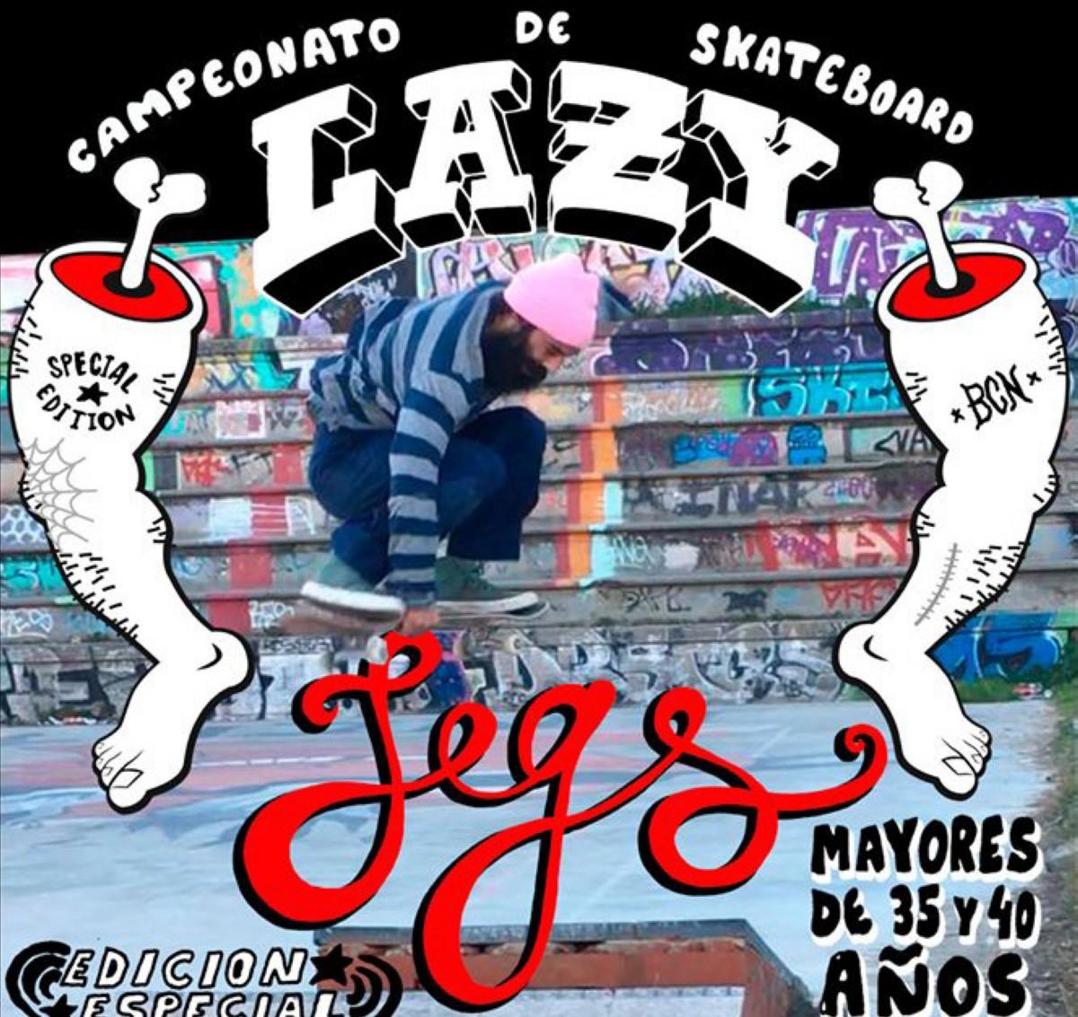 Lazy Legs edición especial Barcelona