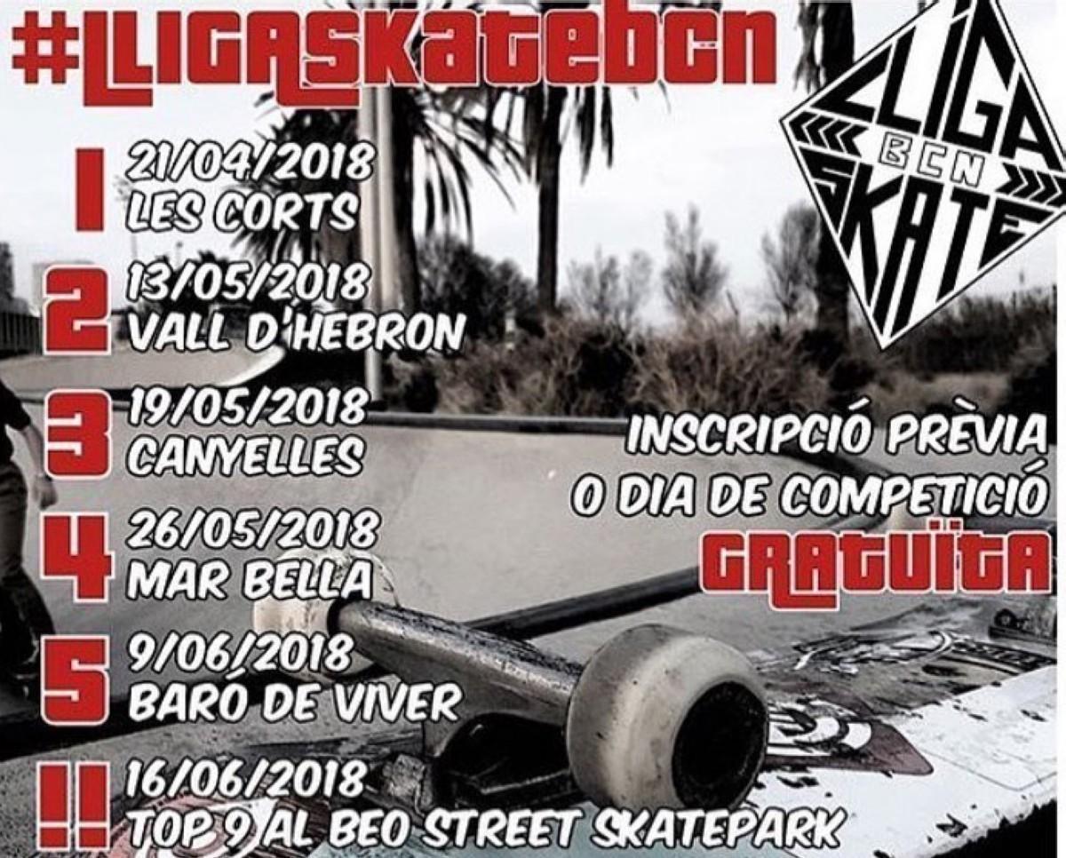 LIGA DE SKATE de Barcelona 2018 en Al Beo street