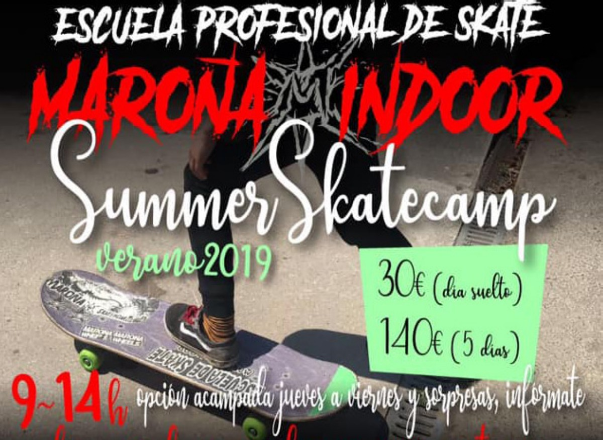 Llegan los Maroña Indoor summer camps