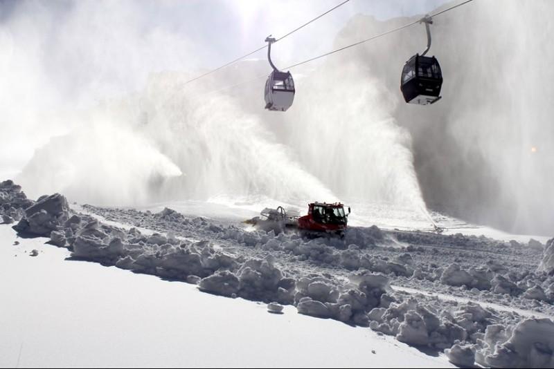 Sierra Nevada abre este Puente el mayor desnivel esquiable