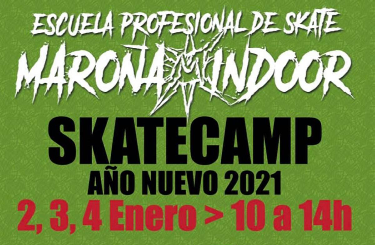 Skate camp año nuevo 2021
