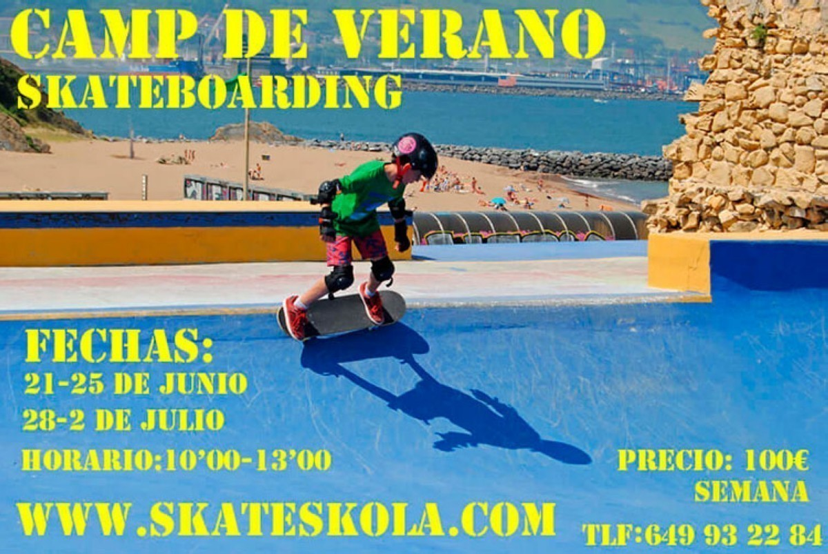 Skate Camp de verano La Kantera