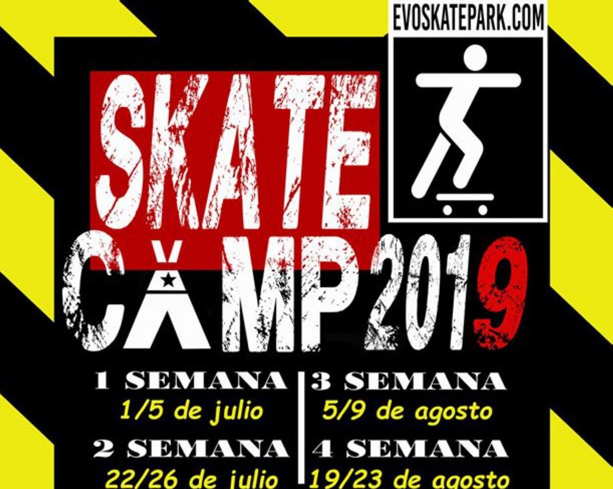 Skate camps de Evo Skatepark