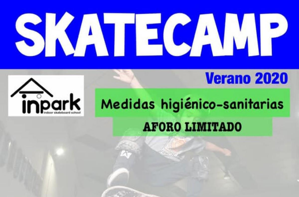 Skatecamp de verano en inpark Valdemoro