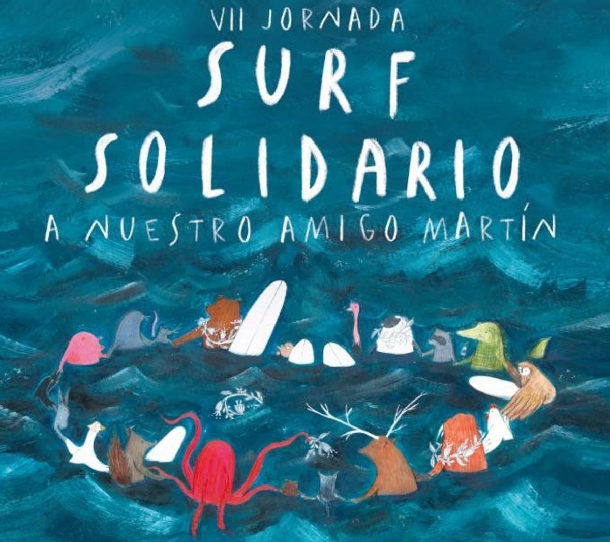 Surf Solidario vuelve a Gijón en su séptima edición