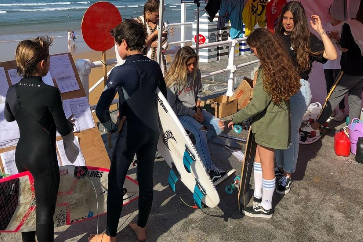 Tercera prueba del FESURFING Junior Series en Gijón