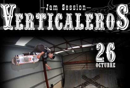 Jam Session Verticaleros en Burgos