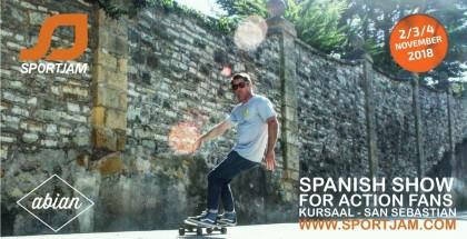 Abian products en SportJam de San Sebastian
