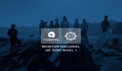 Abiertas inscripciones para Monitor Nacional de Surfing Nivel I