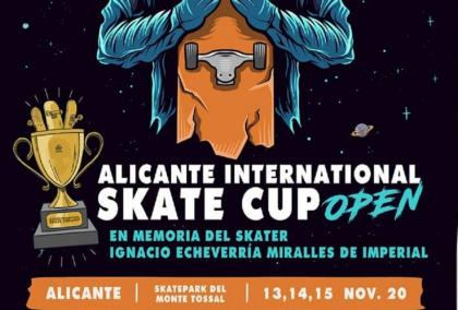Alicante international Skate Cup en noviembre