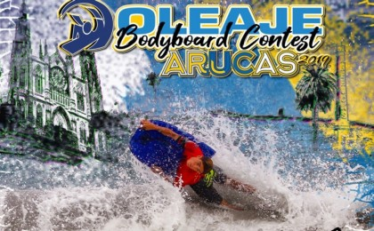 Arucas recibe la Liga FESurfing Bodyboard