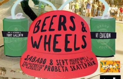 Beer&Wheels en el Probeta skatepark